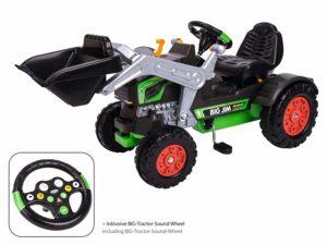 BIG Jim-Turbo Kinderfahrzeug Traktor Grün