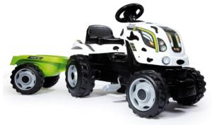 Smoby Traktor Bauernhoftraktor XL Kuh + Anhänger 710113