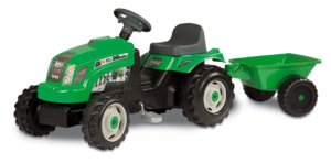 Smoby 7600033329 - GM Traktor mit Anhänger