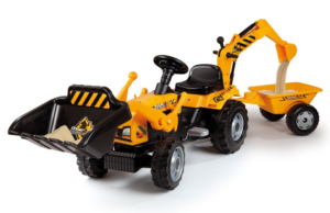 Smoby Builder Max Traktor mit Anhänger 7600033389