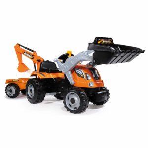 Smoby Traktor Builder Max 7600710110