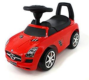 Big Bobby Car Mercedes-Benz - Rotes AMG Spielzeugauto