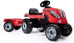 Smoby Traktor Farmer mit Anhänger 7600710108