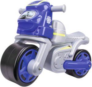 BIG Bike Polizei Kinderfahrzeug, Silber (800056312)